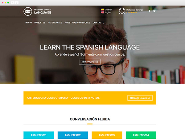 Learn the spanish language